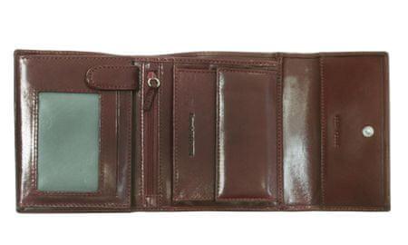 Emporio Valentini usnjena denarnica 563-1053, ženska, rjava