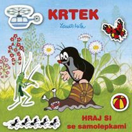 Miler Zdeněk: Krtek - Hraj si se samolepkami