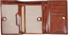 Emporio Valentini usnjena denarnica 256, ženska, rjava