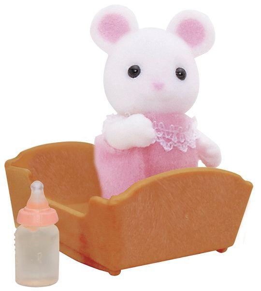 Sylvanian Families Baby bílá myška
