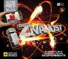 Clive Gifford: iZnanost : elementi, sile in eksplozivni eksperimenti!