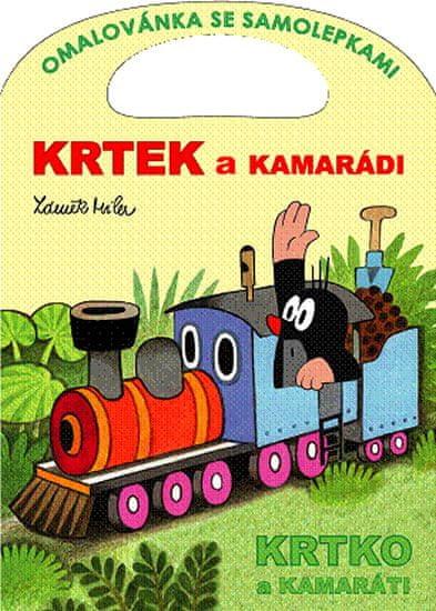 Miler Zdeněk: Krtek a kamarádi - Omalovánky A4
