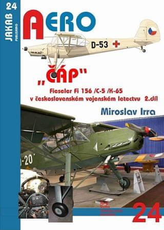 """Irra Miroslav: """"ČÁP"""" Fieseler Fi 156 /C-5 /K-65 v československém vojenském letectvu - 2.díl"""