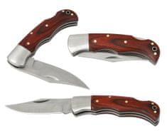 žepni nož pipec, leseni ročaj