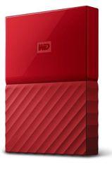 "WD My Passport 2TB / Externí / USB 3.0 / 2,5"" / Red (WDBYFT0020BRD)"