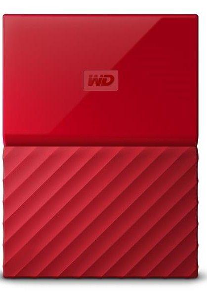 WD My Passport 2TB, červená (WDBS4B0020BRD-WESN)