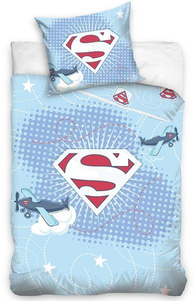 Carbotex Povlečení do postýlky Little Superman