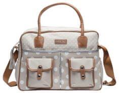 Bebe-jou Luxusná prebaľovacia taška Puntík
