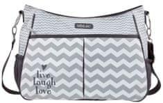 Bebe-jou Luxusná prebaľovacia taška Chevron Grey