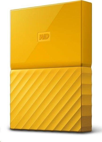 WD My Passport 4TB, žlutá (WDBYFT0040BYL-WESN)
