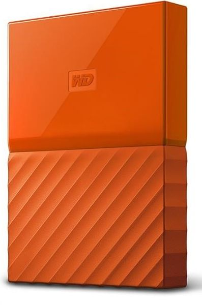 "WD My Passport 4TB / Externí / USB 3.0 / 2,5"" / Orange (WDBYFT0040BOR)"