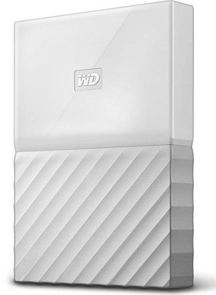 WD My Passport 1TB, bílá (WDBYNN0010BWT-WESN)