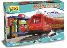 Unico Plus pociąg elektryczny z dźwiękami