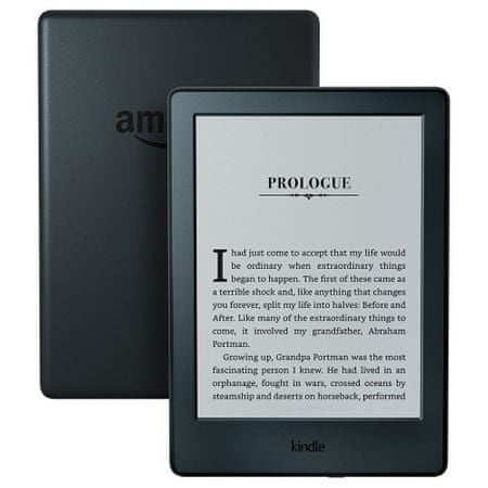 Amazon czytnik e-booków Kindle Touch 8 (2016) black bez reklam