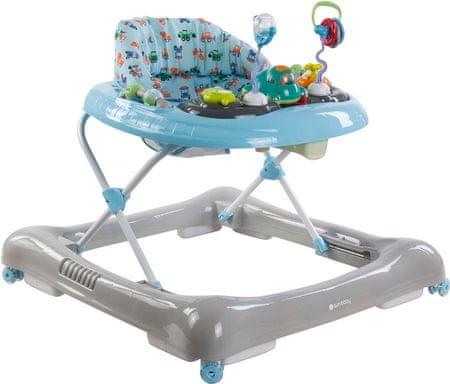 Sun Baby Chodzik samochód, niebieski