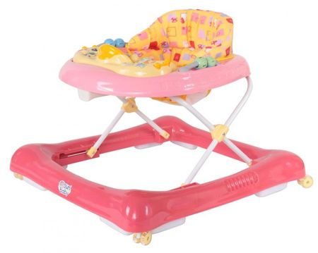 Sun Baby Chodzik samochód, różowy