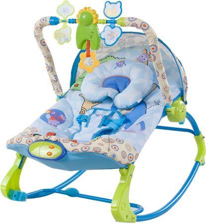 Sun Baby Leżaczek elektryczny, Królestwo zwierząt