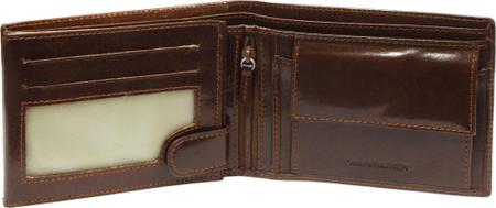 Emporio Valentini usnjena denarnica, 563-261, moška, rjava