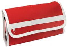 toaletna torbica Holiday, rdeča/bela