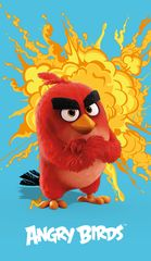 CTI Ręcznik Angry Birds 70x120 cm