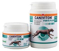 Vétoquinol tabletki wspomagające funkcjonowanie stawów CANIVITON FORTE PLUS 90 tabletek