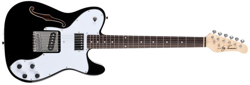 Jay Turser JT-LT-69CUSTOM-BK Elektrická kytara