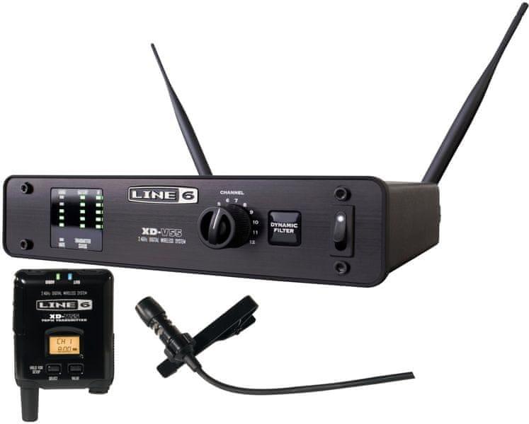 Line6 XD V55L Bezdrátový set s klopovým mikrofonem