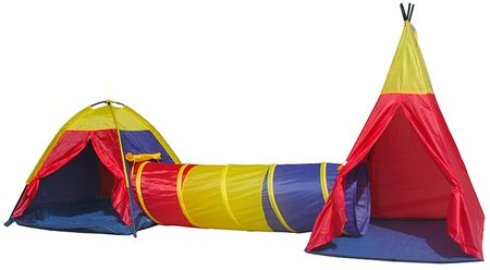 iPlay dvojni šotor s tunelom