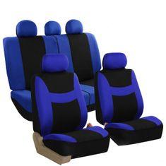 DEPO Auto Parts 6818 Univerzális üléshuzat, Fekete/Kék