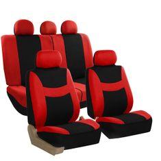 DEPO Auto Parts 6820 Üléshuzat, Fekete/Piros