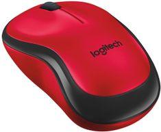 Logitech M220 Silent, červená (910-004880)