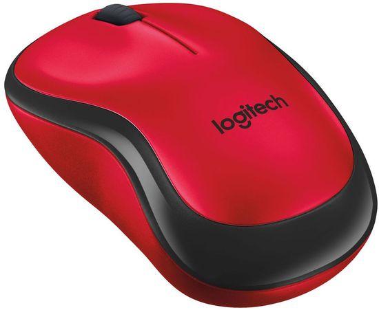 Logitech M220 Silent, piros (910-004880)