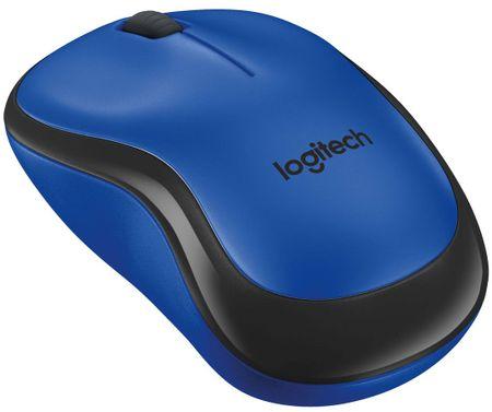 Logitech miška M220 Silent, modra