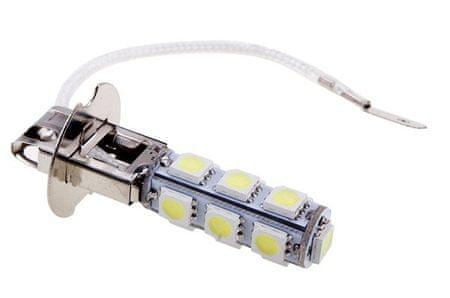 M-LINE žarnica LED 12V H3 13xSMD CANBUS, bela, par - odprta embalaža