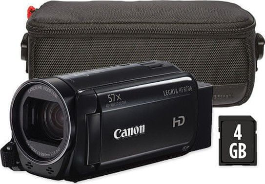 Canon LEGRIA HF R706 Essential Kit Black