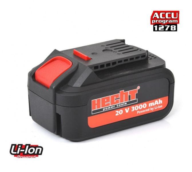 Hecht Akumulátor 001278B 20V Li/3Ah