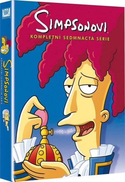 Simpsonovi: 17. série - DVD