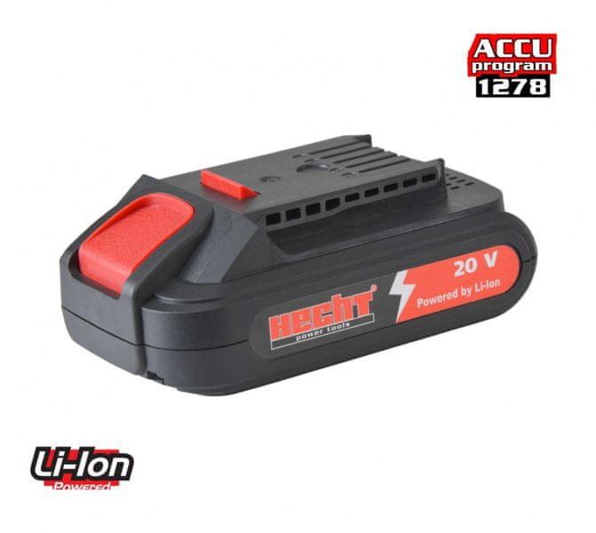 Hecht Akumulátor 001277B 20V Li/1,5Ah