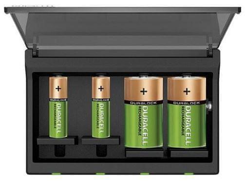 Duracell višenamjenski punjač baterija Hi-Speed CEF22-EU (AA/AAA/C/D/9V)