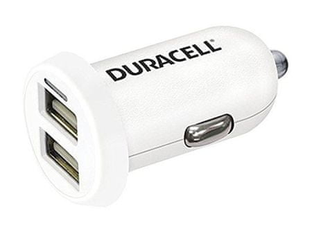 Duracell univerzalni USB avtomobilski polnilnik DR5015W (2x USB)