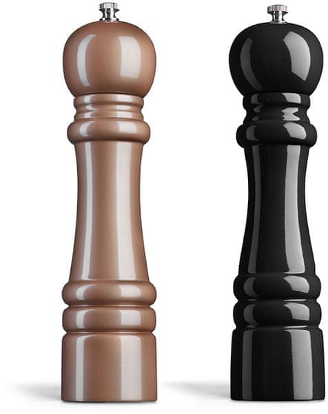 Amefa Mlýnek na sůl a pepř dřevo 26 cm měděný