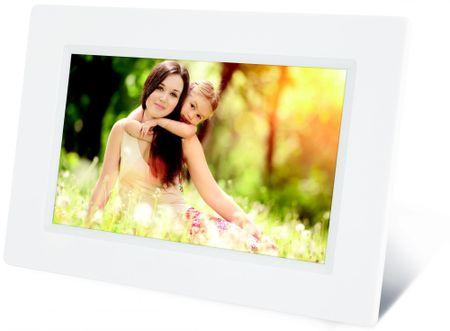 Sencor digitalni foto zaslon SDF 732, bel - odprta embalaža