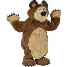Simba Máša a medvěd Plyšový tančící medvěd 35 cm