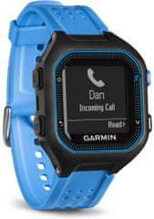 Garmin Forerunner 25 GPS, HR Sportóra Fekete-kék, XL