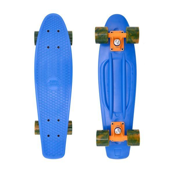 Street Surfing Skateboard Beach Board Ocean Breeze blue