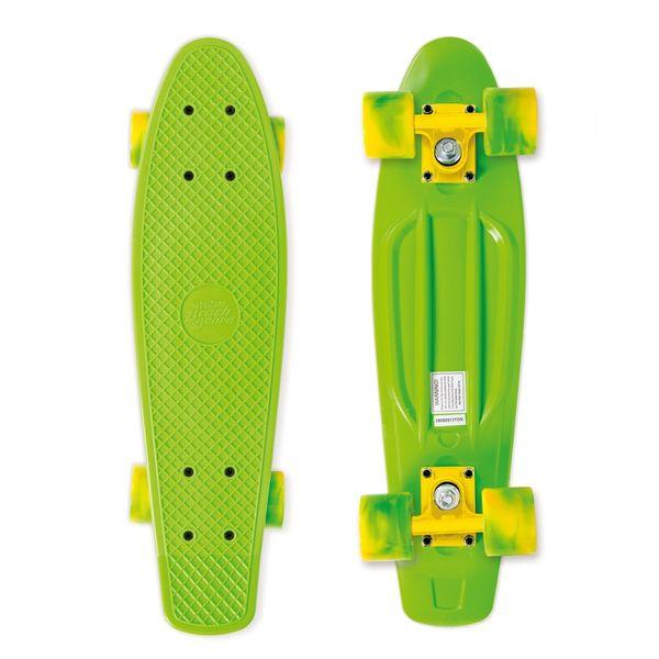 Street Surfing Skateboard Beach Board California zelený