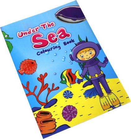 Pobarvanka za odrasle in otroke Under the sea