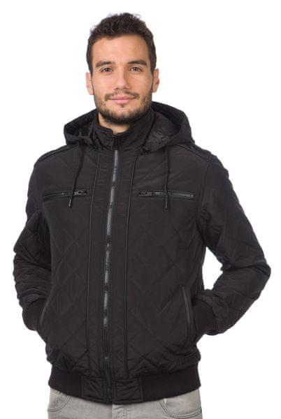 Brave Soul pánská bunda Tilsley1 S černá