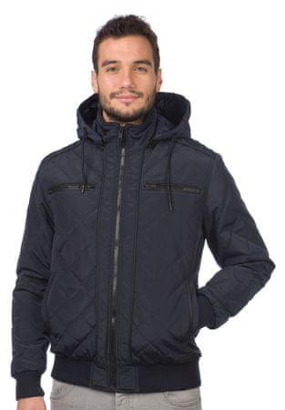 Brave Soul moška jakna Tilsley1 S temno modra