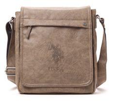 U.S. Polo Assn. unisex šedá crossbody taška